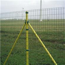 现货供应 围栏护栏隔离网 圈地果园养殖网 硬塑荷兰网铁丝网