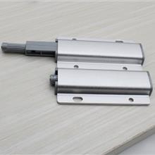 铝合金反弹器 大弹力磁吸免拉手双开柜门按弹器隐形门吸双门反弹器 东莞家具配件厂