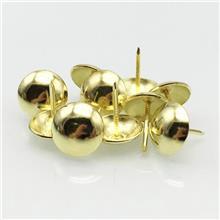 响震加厚锌合金半圆球镜钉_玻璃装饰广告钉_亮光金色装饰钉批发_登丰家具配件