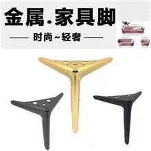 五金家具配件 不锈钢电镀钛金拉丝桌脚底座圆形桌腿金属中西餐厅台脚 登丰
