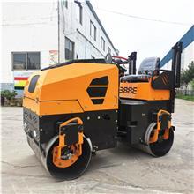 全液压沟槽沥青草坪压实机 双轮驱动柴油压路机 2.5吨压路机工厂出售