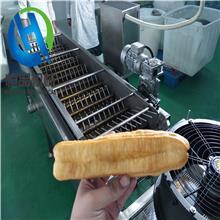 自动出料炸油条机器 冷冻油条油炸机 天津香油果子油炸机器设备