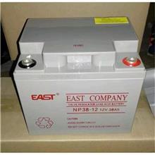 易事特蓄电池12V40AH免维护胶体EWS40-12UPS/EPS太阳能设备