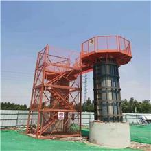 毅博厂家供应 建筑桥梁盖梁平台 盖梁施工安全平台 高墩防护踏板