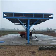 毅博供应 拼装式钢筋加工棚 钢筋安全防护棚 定型化钢筋加工棚