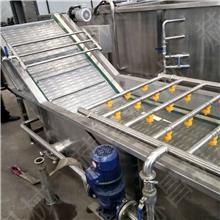 气泡清洗机 运行平稳坚固耐用 蔬菜水果水产品叶状根茎类等 果蔬加工设备