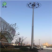 辽宁葫芦岛市 高杆灯  升降式 太阳能路灯厂 德州本铄新能源15米20米25米30米35米