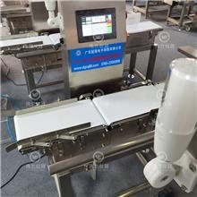鱼类皮带称重机不合格剔除皮带检重称重量识别分选别机流水线电子秤