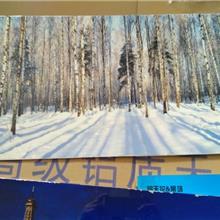 广告牌3D彩绘铝单板_UV打印幕墙铝板_办公楼装饰铝板