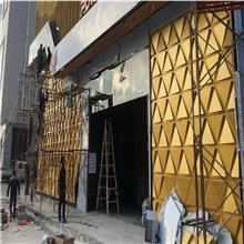 三角造型铝单板 酒店外墙铝单板 铝合金幕墙装饰材料