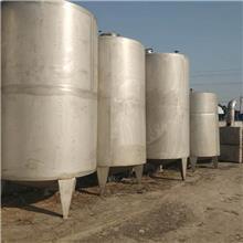 不锈钢储水罐 二手不锈钢2000L配液罐 二手保温加热储罐 长期出售