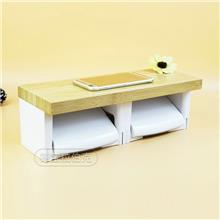 生产供应 卫生间吸壁式纸巾架 防水创意日用品浴室抽纸通用纸巾盒