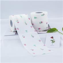 生产厂家印刷纸巾定制 生活用纸卫生纸 100克卷纸定制厂家