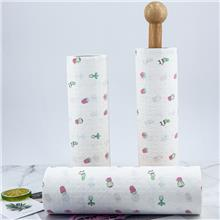 广东纸巾厂家批发 厨房用纸 吸水吸油纸 印花纸抹布洗碗巾