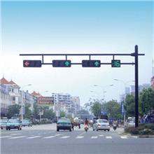 信号灯灯杆设备 红绿灯杆直供 LED信号灯杆报价