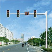 信号灯灯杆厂家 红绿灯杆价格 LED信号灯杆批发