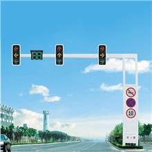 信号灯灯杆供应 红绿灯杆设备 LED信号灯杆直供