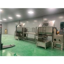 食品添加剂混合机有机肥复合肥搅拌机滑石粉螺带混合机厂家供应卧式工业搅拌机