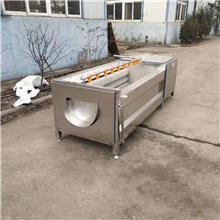 毛刷式清洗设备 莲藕去皮机 贵州毛刷式清洗设备 景翔机械