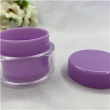 亚克力卸妆罐 塑料膏霜瓶 长期供应 100g分装盒 优良选材