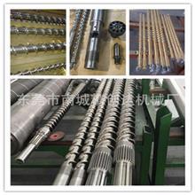 清远双金属螺杆炮筒 双合金螺杆炮筒 PC光学螺杆 无卤螺杆生产厂家