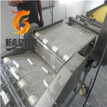 青岛带鱼上浆机 带鱼段挂浆机 鱼糜制品上浆裹糠成套生产线