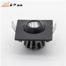 牛眼天花灯 cob射灯可调角度led射灯 客厅牛眼灯 嵌入暗装防眩射灯生产厂家