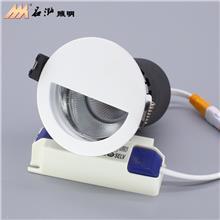 广东LED射灯生产厂家 嵌入式天花灯 筒灯 cob洗墙射灯