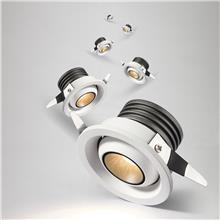 厂家批发3W小射灯 LED迷你射灯 嵌入式射灯 展厅橱柜珠宝灯柜台cob天花射灯