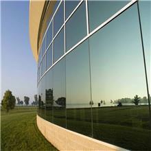供应半隐框玻璃幕墙 玻璃隔断安装玻璃门玻璃幕墙 商场办公室隔音防水玻璃幕墙