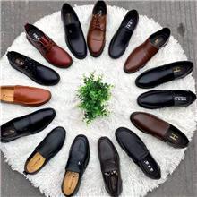 新款真皮男士商务休闲皮鞋厂家直销批发外贸地摊货源