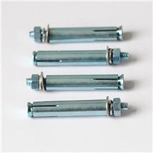 厂家直供镀锌膨胀螺栓 国标M8M10M12M14碳钢金属膨胀螺栓现货批发