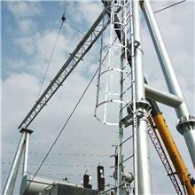 裕伟设计安装 电力局架构生产制造 风电构架 单回路电力铁塔
