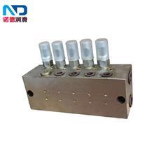 厂家直供SSPQ-L系列双线分配器油脂分配器分配阀分配块分油器
