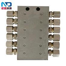 厂家直供SSV递进式单线分配器润滑系统油脂分油器