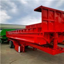 铁路集装箱运输自卸半挂车 9米5直顶后翻斗10米后翻自卸半挂车公告