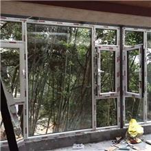 济南历下区断桥铝加工制作安装 定做阳光房 各种系列断桥铝