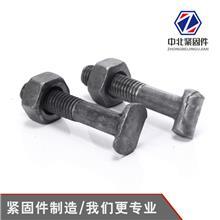 现货批发国标扣件螺丝 丁字丝建筑脚手架扣件螺栓T型螺丝螺母