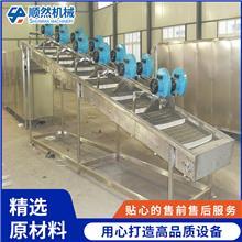 二手芋头高压喷淋清洗机 屠宰场周转箱清洗机 豆干风干机 顺然机械