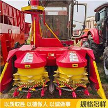 轮式圆盘青储机 牧草收割青储机 背负式转盘割台 供应发货