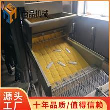 威化纸包红豆派上糠机 荷叶年糕裹糠设备生产厂家