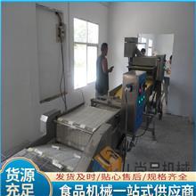 威化纸包红豆卷挂浆机 红糖糍粑粘糠机产量大省人工