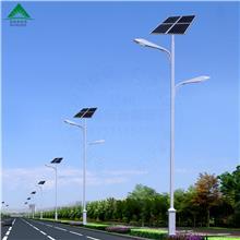 定制太阳能路灯价格表 节能防水高亮度低成本太阳能灯杆批发