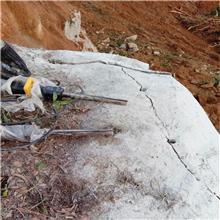 开采石头太硬大型设备 代替手工锤击破碎岩石的机器