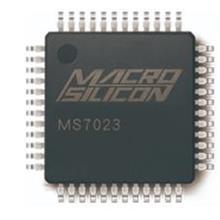 MS7023单芯片数模转换器   功能齐全