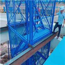 阜城如祥 安全梯笼 桥梁施工安全梯笼 拼装式安全梯笼