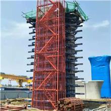 河北如祥 生产框架安全梯笼 隧道施工安全梯笼 高空作业梯笼平台