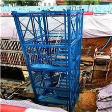 衡水如祥 销售封闭式安全梯笼 建筑安全梯笼 地铁桥梁防护梯笼