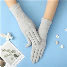 按需定制 防晒冰丝手套 户外运动手套 防晒手套女