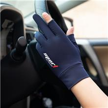 厂家供应 触屏开车防滑手套 骑行户外运动手套 夏季新款冰丝手套